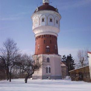 Wieża wodna z Heimatmuseum